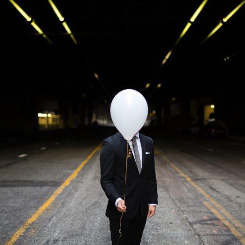 privacy man balloon